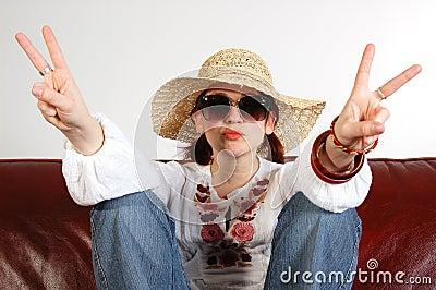 Hippy girl 3
