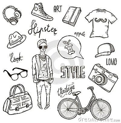 Hipster set