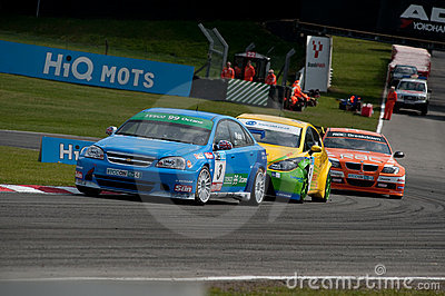 HiQ MSA BTCC - Brands Hatch Editorial Photo