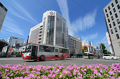 Hiroshima City Buses Editorial Photography