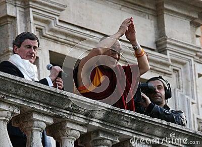 His Holiness Dalai Lama Editorial Photo