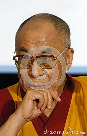 His Holiness Dalai Lama Editorial Image