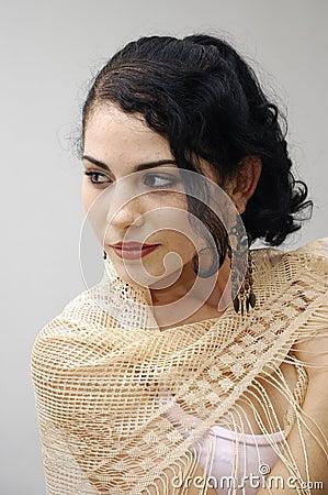 Free Hispanic Beauty Royalty Free Stock Image - 5306286