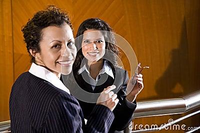 Hispanic businesswomen