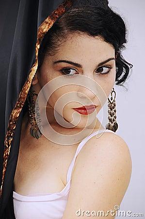 Free Hispanic Flamenco Dancer Stock Photography - 5193312