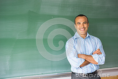 Hispanic Male Teacher