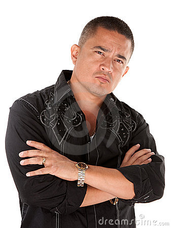 Free Hispanic Man With Attitude Stock Image - 18036161