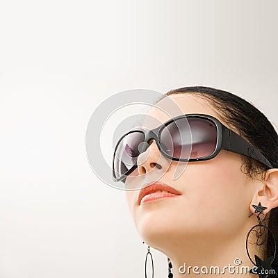 Free Hispanic Model With Sunglasses Royalty Free Stock Images - 4632279