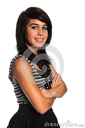 Hispanic Teenage Girl