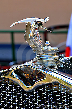Hispano-Suiza emblem Editorial Image