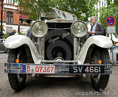 Hispano-Suiza H6B Editorial Stock Photo