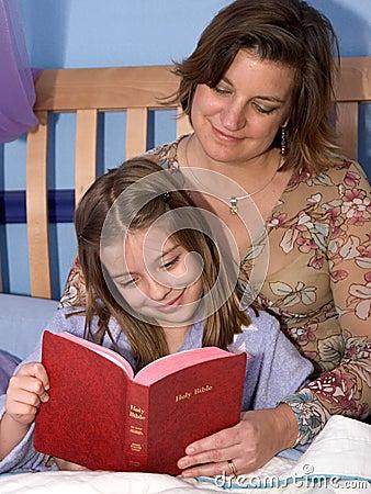 Histoire 2 de bible d heure du coucher