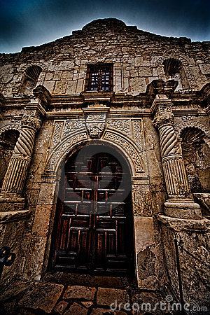 The Historic Alamo in San Antonio Texas