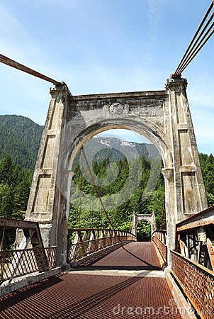 Historic Alexandra Bridge, Fraser Canyon, British