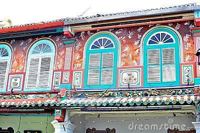 Historic architecture at the Jonker street