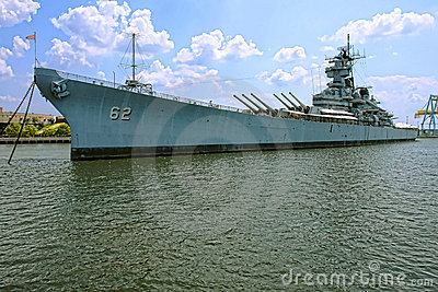 Historic Battleship USS New Jersey in Camden