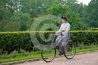 Historic Bike Ride Editorial Image