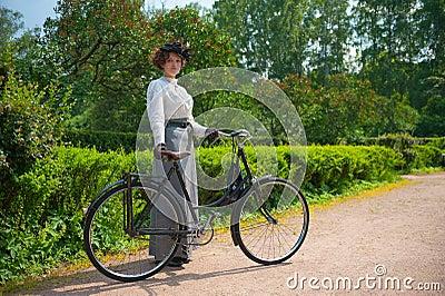 Historic Bike Ride Editorial Photo