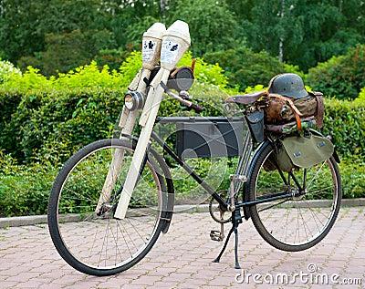 Historic Bike Ride Editorial Image