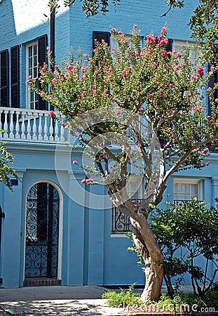 Historic Blue Home