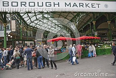 Historic Borough Market Editorial Image