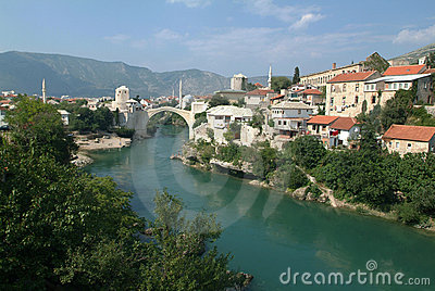 Historic bridge of Mostar