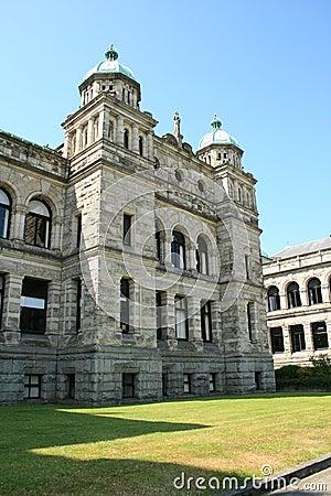 Historic building in Victoria, British Columbia, Canada