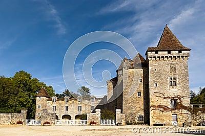 Saint Jean de Cole, Chateau de La Marthonie