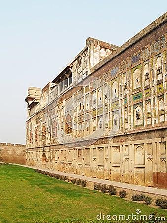 Historic building facade