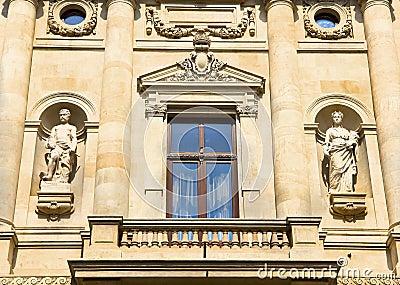 Historic building facade - Bucharest