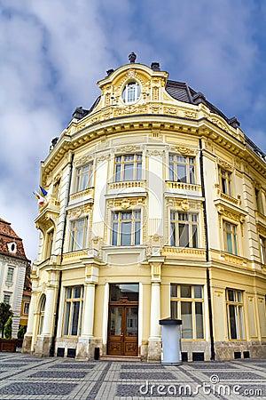 Historic building in Sibiu