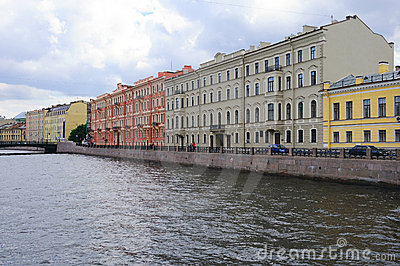 Historic Buildings in St Petersburg