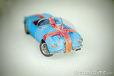 Historic car - present