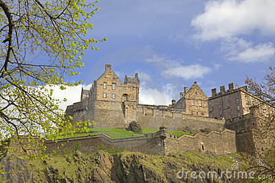 Historic Castle in Edinburgh