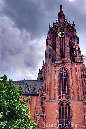 Strasbourg cathedral clock tower