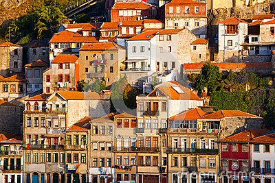 The historic centre of Porto Editorial Image