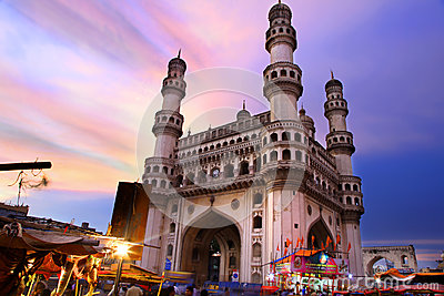 Historic Charminar Editorial Photography