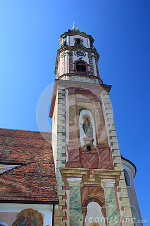 Historic church in Germany