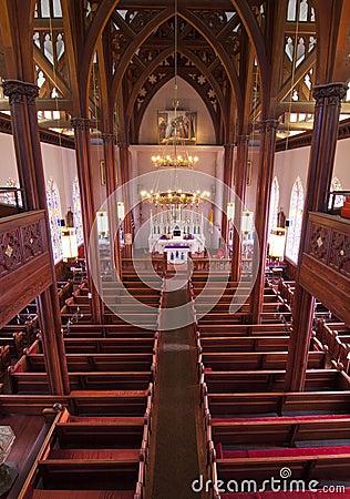 Historic Church Interior