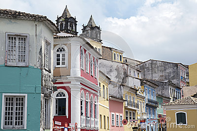 Historic City Center of Pelourinho Salvador Brazil