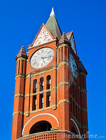 Historic clock tower, Port Townsend, Washington