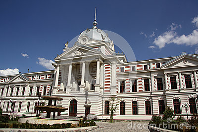 Historic Coltea hospital in Bucharest (Romania) Editorial Photo