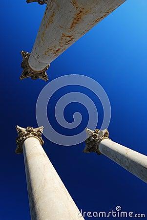 Free Historic Columns And Capitals Stock Photo - 8177130