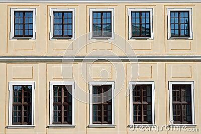 Historic facade in Dresden