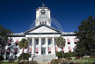 Historic florida capital building