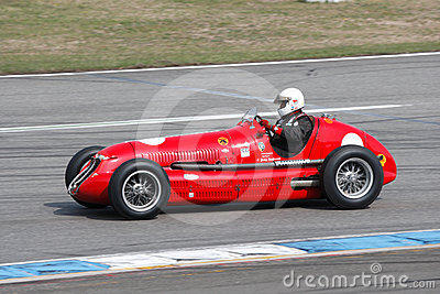 Historic formula  one car, Maserati 4CL Editorial Stock Image