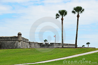 Historic fort St Augustine