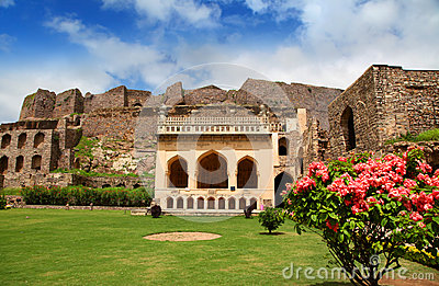 Historic Golkonda fort