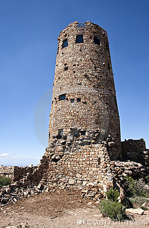 Historic Grand Canyon Desert View Watchtower