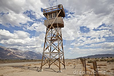 Historic Guard Tower at Manzanar National Park
